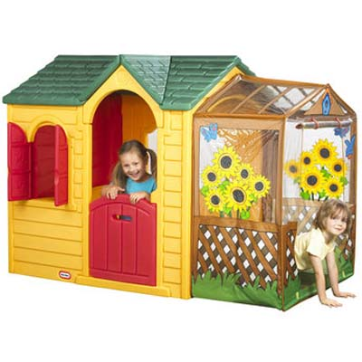 Little Tikes Garden Cottage The Incredible Outdoor Garden Play House For Kids