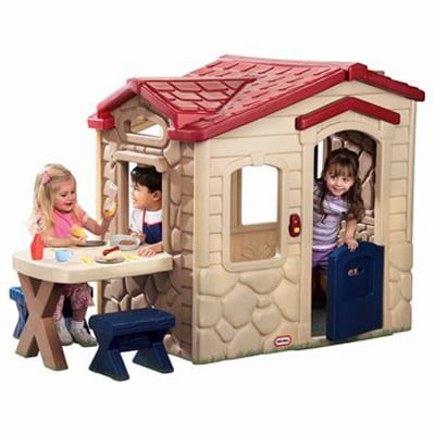 Little tikes picnic on the patio playhouse your kids unique picnic play house - Maisonnette toys r us ...