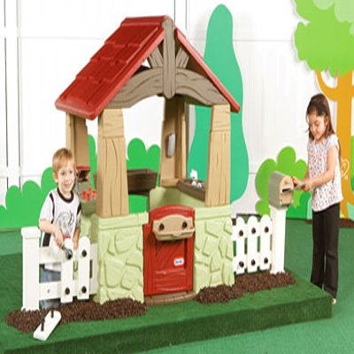 Little Tikes Home And Garden Playhouse U2013 Your Kids Personal Home And Garden  Play House ...