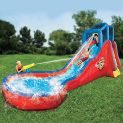 18 Foot Splashing Soaker Slide