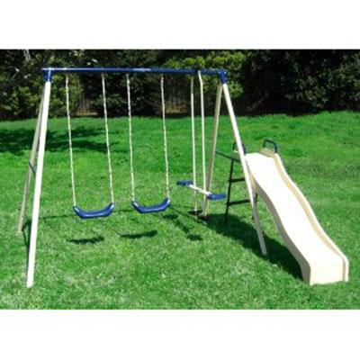 Flexible Flyer Swing N Glide III Swing Set with Plays