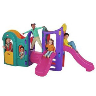Little tikes 8 in 1 adjustable playground your kids long for Little tikes 8 in 1