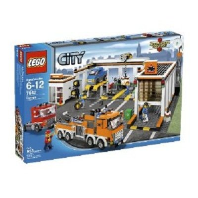 LEGO Play Set Garage