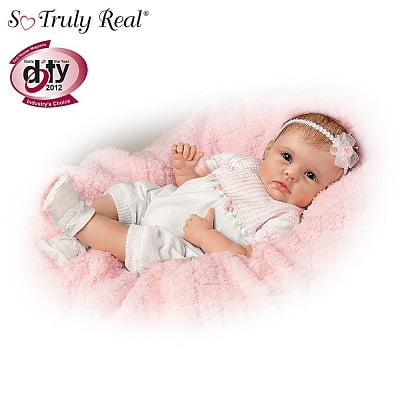 So Truly Real Olivia's Gentle Touch Lifelike Baby Girl Doll