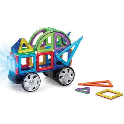 The RC Lighted Magnetic Construction Set