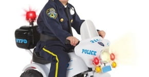 The Ride On Police Motorcycle