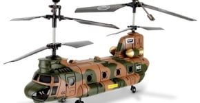 The Remote Controlled Chinook Helicopter
