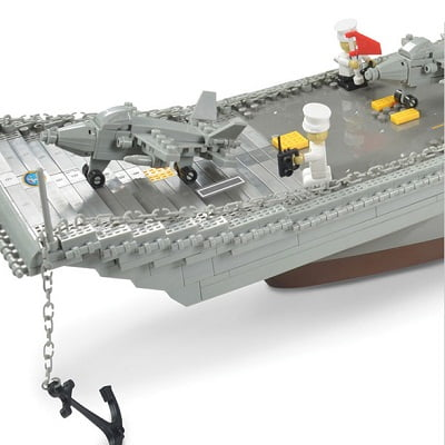 The 3 1/2-Foot Building Block Aircraft Carrier 1