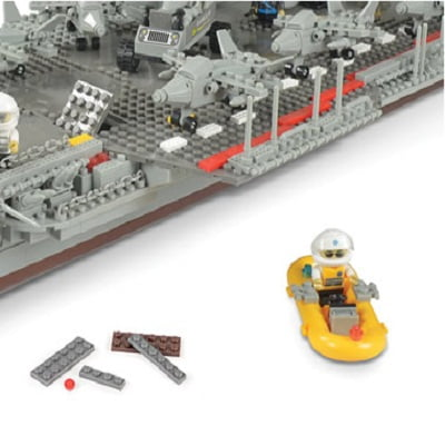 The 3 1/2-Foot Building Block Aircraft Carrier 2