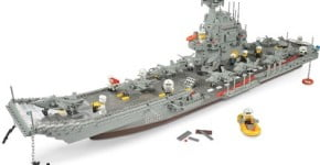 The 3 1/2-Foot Building Block Aircraft Carrier
