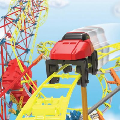 The 7' Tall Motorized Roller Coaster 2
