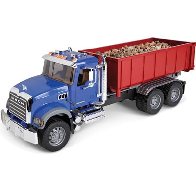 The Mack Roll Off Container Truck