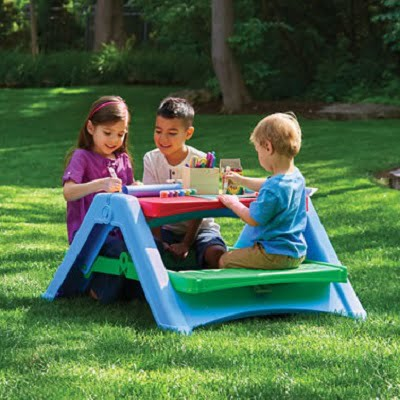 The Foldaway Play Table