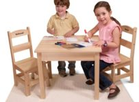 The Children's Play Table and Personalized Chairs