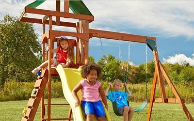 Scrambler Wood Complete Play Set A Value Packed And Space Saving