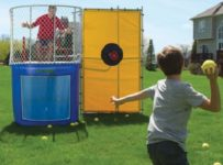 The Backyard Dunk Tank