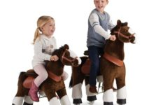 The Ride-On Plush Pony