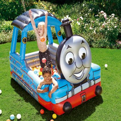 Thomas the tank engine paddling pool ideal for kids who for Elc paddling pool