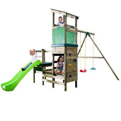london-climb-n-slide-swing-set