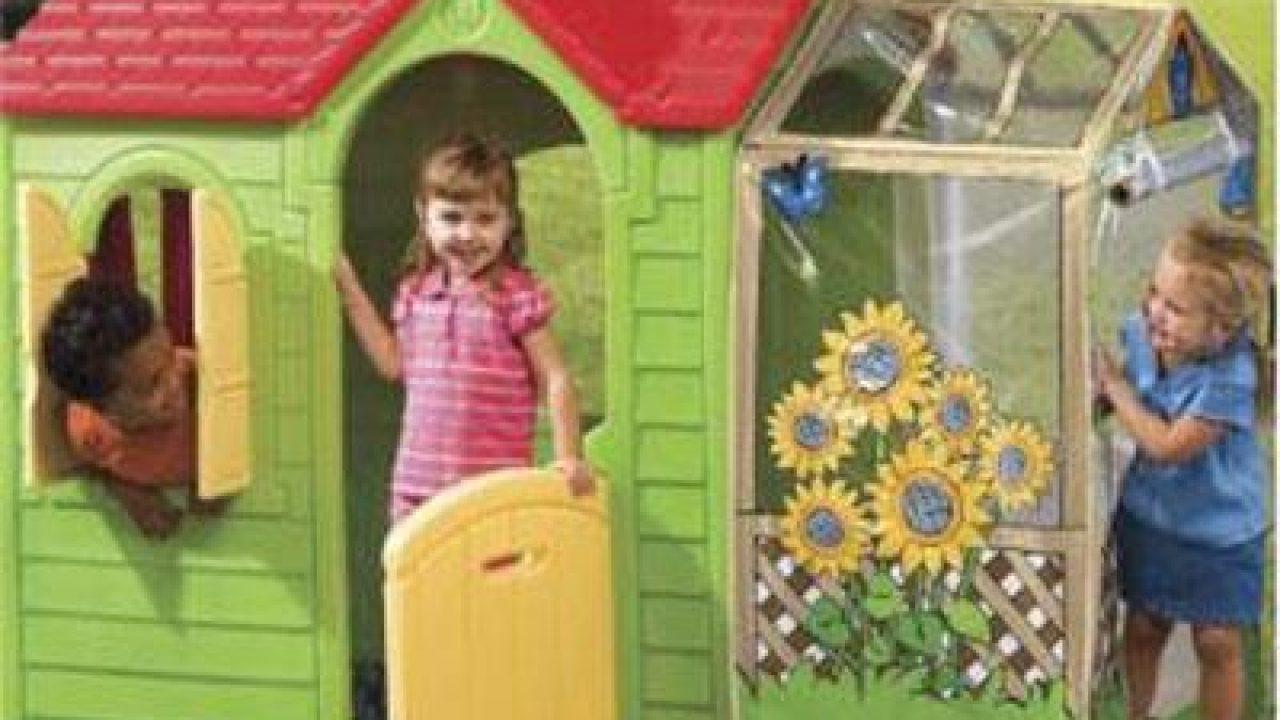 Pleasant Little Tikes Evergreen Garden Cottage Colorful Playhouse Download Free Architecture Designs Saprecsunscenecom