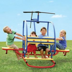 The Backyard Helitotter - Ideal for Kids Who Love to Play Helicopter Flights