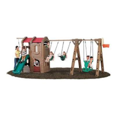 Swing Set with Slide and Glider
