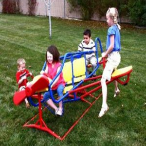 Lifetime Ace Flyer Airplane Teeter Totter - The Perfect See Saw Play Set for Kids