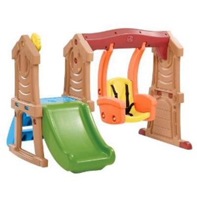Step2 Play Up Toddler Swing And Slide Colorful Swing And Slide Set