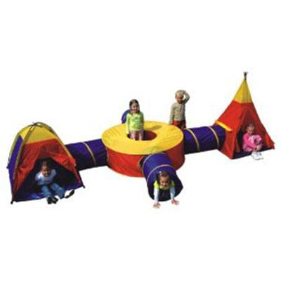 Kids Authority spider Tunnel play tent
