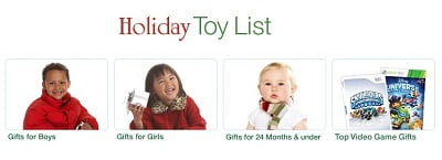 holiday toy list 2011
