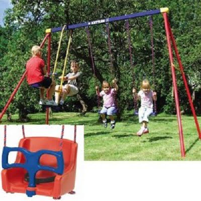 Kettler 8382-790B Multi Play Swing set