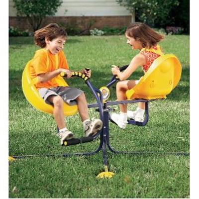 Indoor Outdoor Wurlybird Flyer Sturdy Spinning Ride