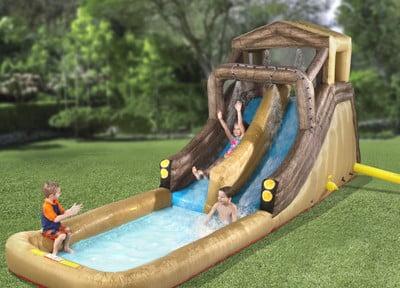 The Inflatable Backyard Log Flume