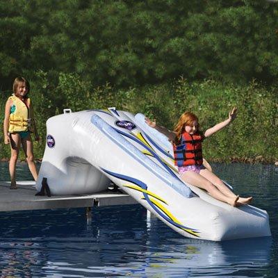 The Inflatable Lake Slide