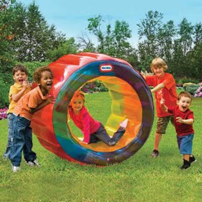 Little Tikes Bumper Wheel Fun Roller