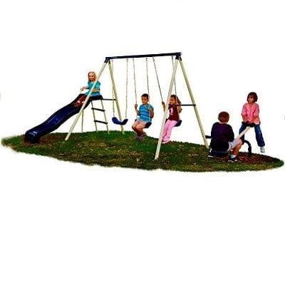 Flexible Flyer Triple Fun Swing Set