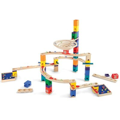 The Wooden Musical Marble Run