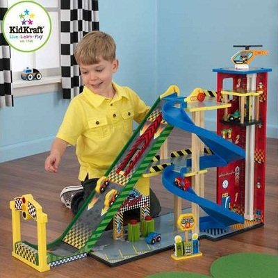 Mega Ramp Racing Set by Kidkraft 1