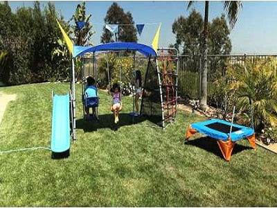 Ironkids Complete Fitness Playground Swing Set