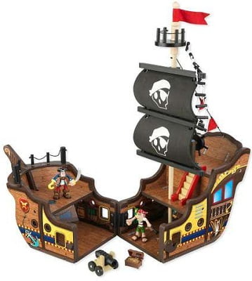 KidKraft Pirate Ship Play Set