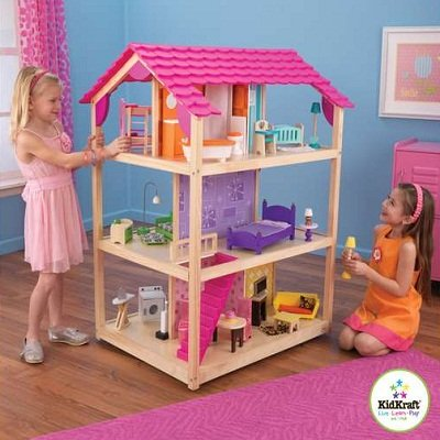 So Chic Deluxe Pretend Play Dollhouse 2