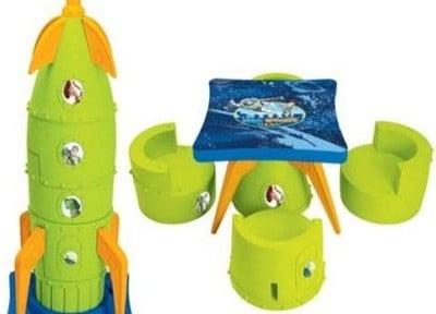 Disney Toy Story Rocket Table Set Puzzle Furniture
