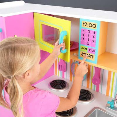KidKraft Big and Bright Kids Pretend Play Kitchen 2