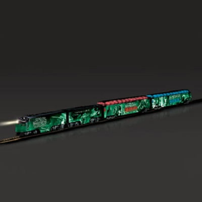 The Luminescent Star Wars Train