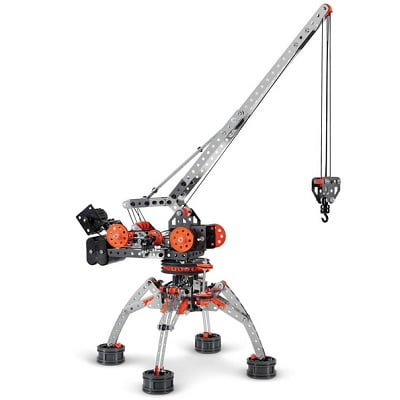 The Genuine Motorized Erector Set