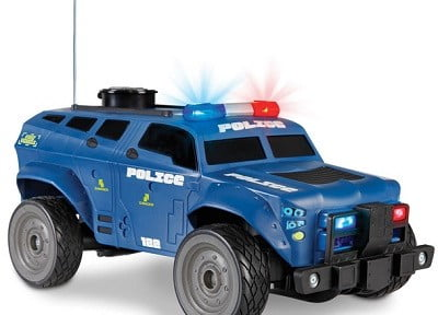 The Talking RC Police Cruiser