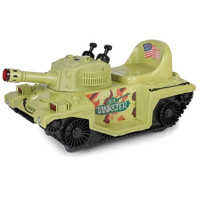 The Light And Sounds Ride On Tank 2