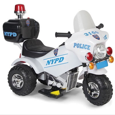 The Ride On Police Motorcycle 1