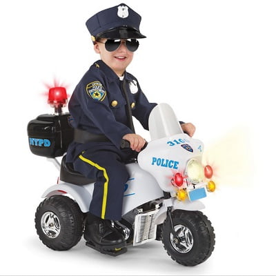 The Ride On Police Motorcycle - Your kids ride-on electric ...