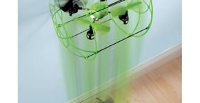 The Glow In The Dark Quadcopter